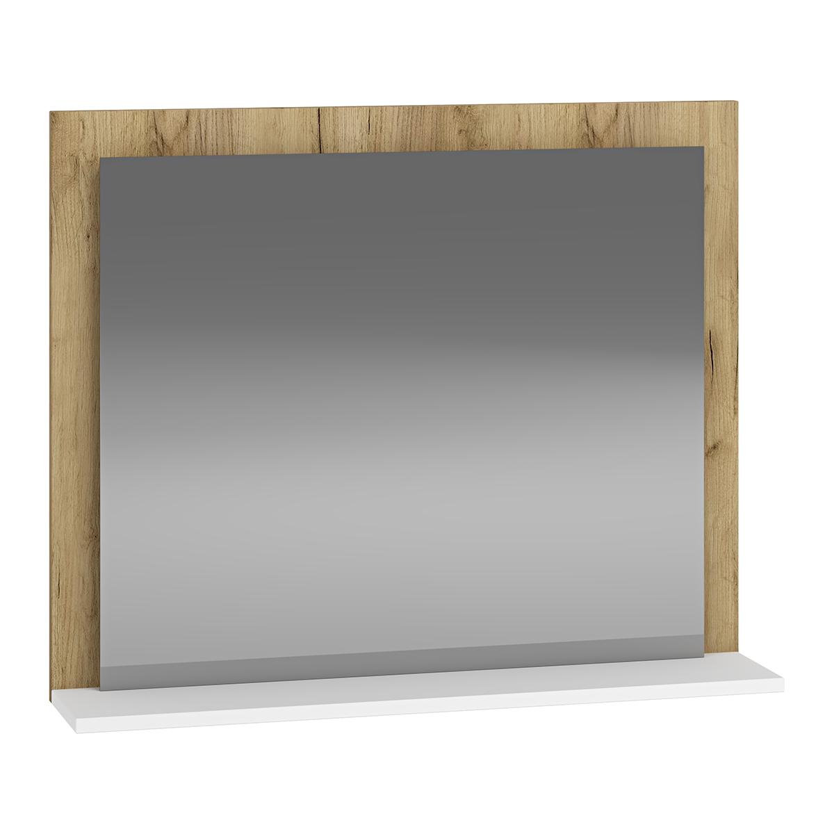 NABBI Baleta Z80 zrkadlo na stenu craft zlatý / alaska