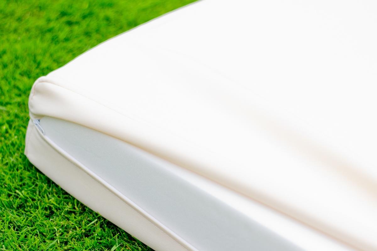 4f1d5ef8441fd ... Záhradný nábytok z umelého ratanu Vistoso - sivý melanž / ecru