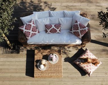 Ako pripraviť záhradný nábytok na leto