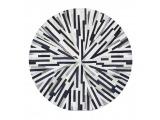 Kožený koberec Typ 8 150x150 cm - vzor patchwork