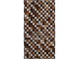 Kožený koberec Typ 3 120x184 cm - vzor patchwork
