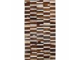 Kožený koberec Typ 5 120x180 cm - vzor patchwork