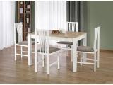 Jedálenský stôl Ksawery - dub sonoma / biela