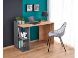 Písací stôl Fino - dub wotan / antracit