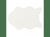 Umelá kožušina Rabit Typ 7 New 60x90 cm - biela