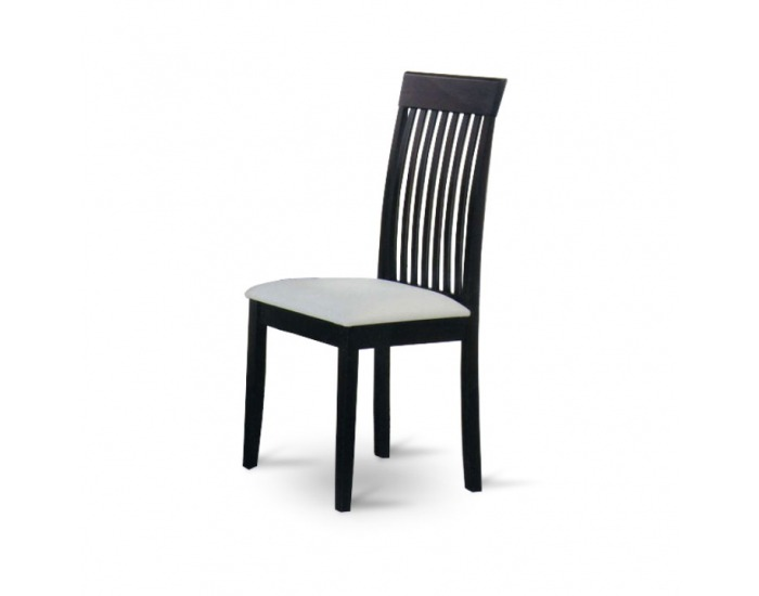 Jedálenská stolička Astro - wenge / biela