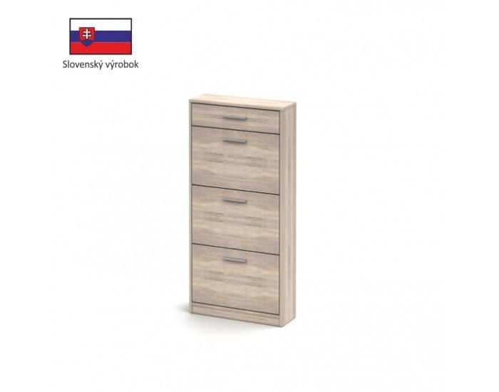 Botník (skrinka na topánky) Noko-Singa 311 - dub sonoma