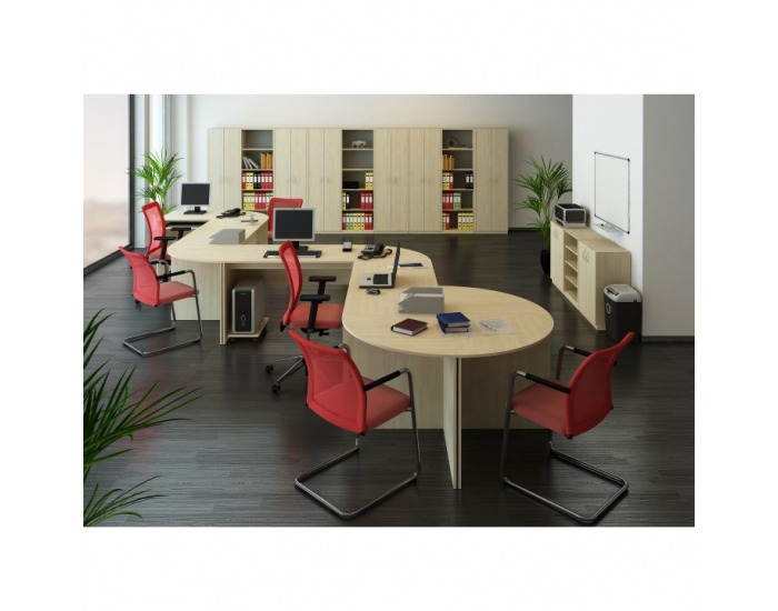 Písací stôl Tempo Asistent New 21 ZA - dub sonoma