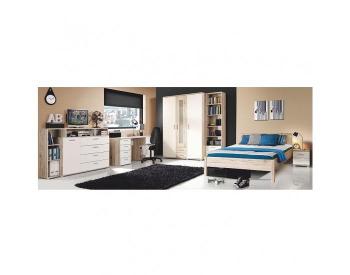 Študentská izba Valeria - dub pieskový / biela