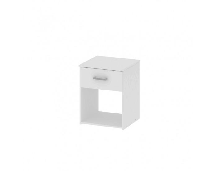 Nočný stolík Garbo - biela