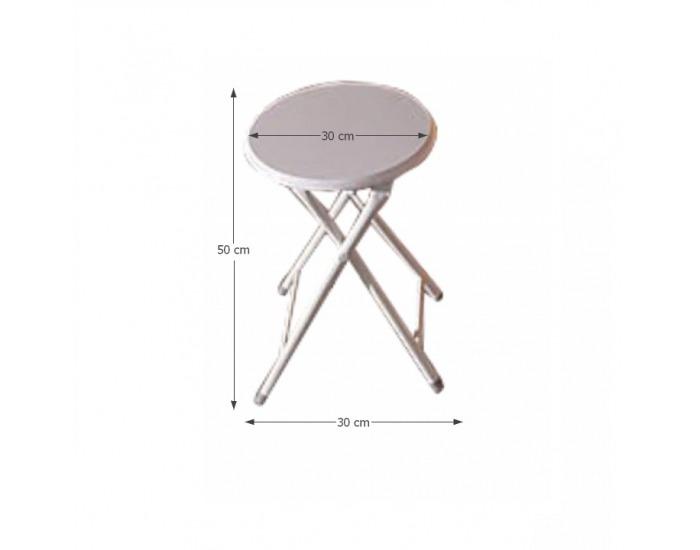 Jedálenská stolička Amadeo - biela