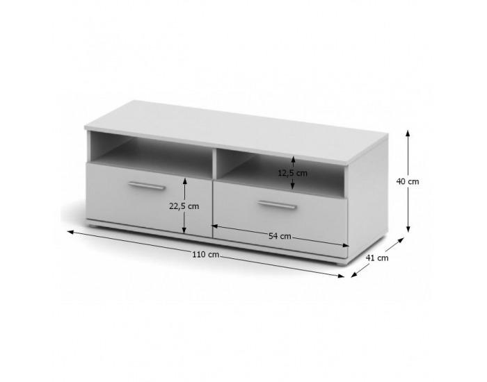 TV stolík Noko-Singa 12 - biela