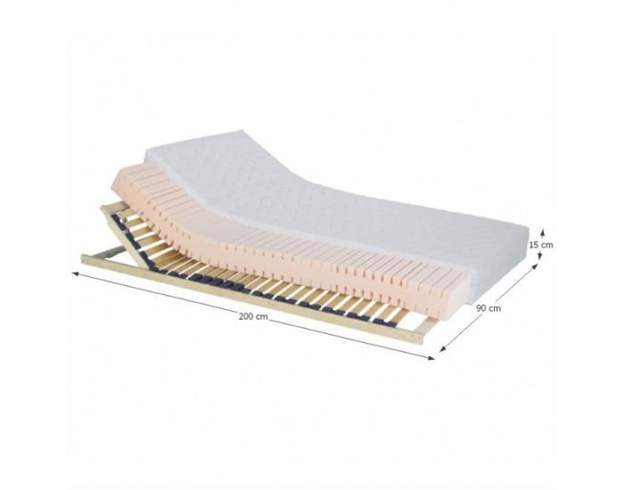 Obojstranný penový matrac Tempo 10 90x200 cm