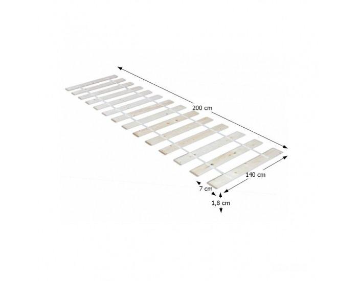 Lamelový rošt Plaza 140x200 cm - rolovaný