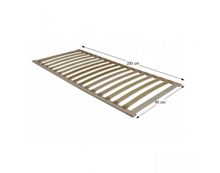 Lamelový rošt Flex 3-zónový 90x200 cm
