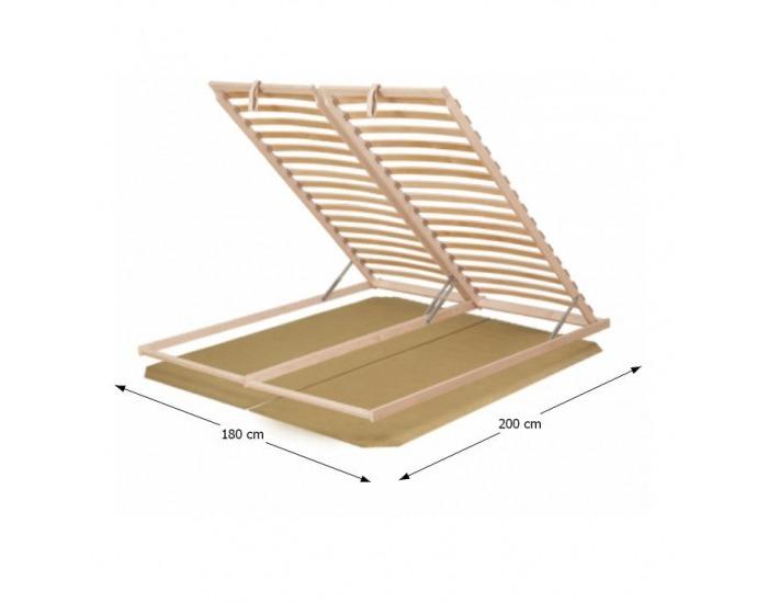 Lamelový rošt Basic Flex 3-zónový 180x200 cm