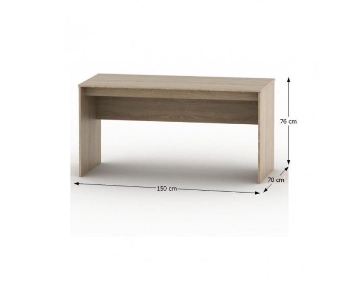 Písací stôl Tempo Asistent New 20 PI - dub sonoma