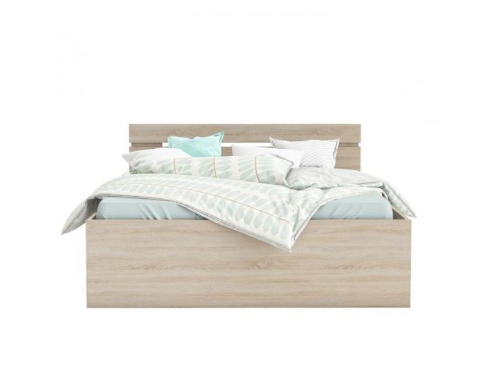 Manželská posteľ s úložným priestorom Michigan 140 - dub sonoma