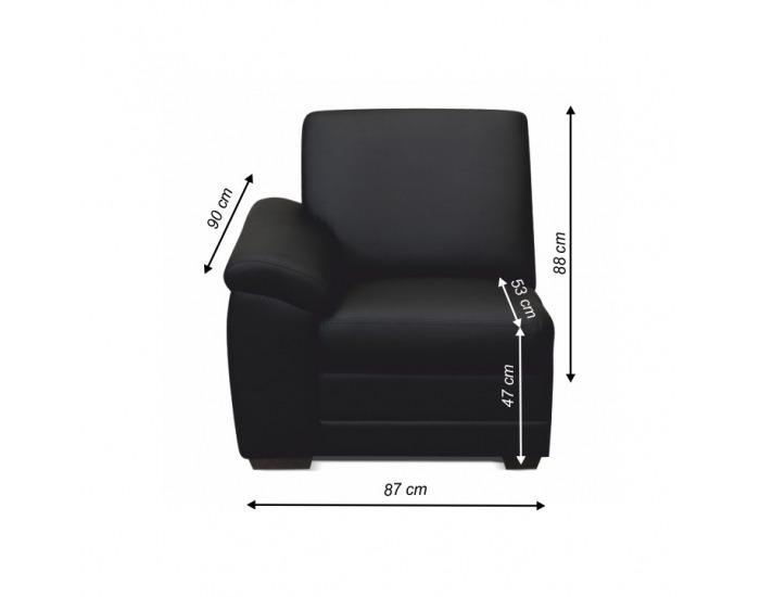 Jednosed Biter 1 1B L - čierna