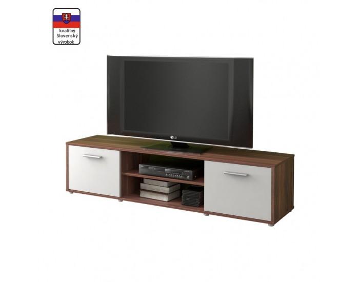 TV stolík Zuno New 1 - slivka / biela