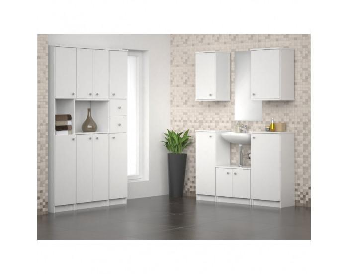Kúpeľňová skrinka Galena SI07 - biela