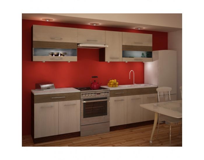 Kuchyňa Jura New IA 260 - rigoleto light / rigoleto dark / wenge