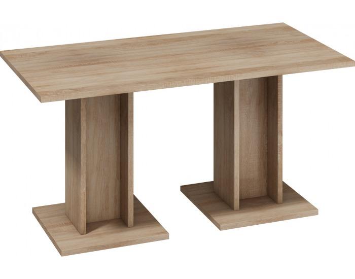 Jedálenský stôl Bond BON-03 - sonoma svetlá