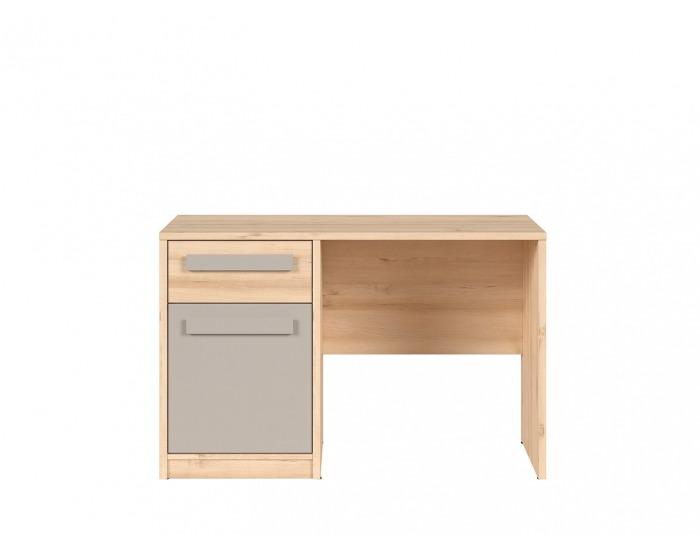 PC stôl Namek BIU1D1S - buk iconic / sivá