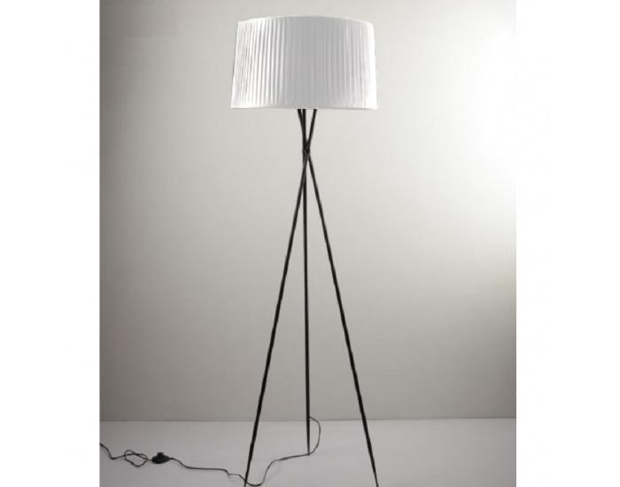 Stojacia lampa Cinda Typ 10 YF10W - čierna / biela