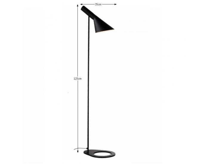 Stojacia lampa Cinda Typ 2 F6114 - matná čierna