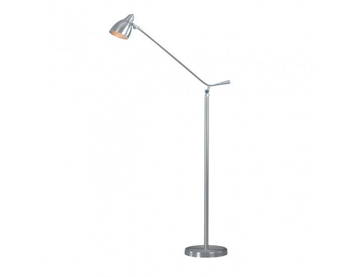 Stojacia lampa Cinda Typ 8 F1078 - niklová / sivá