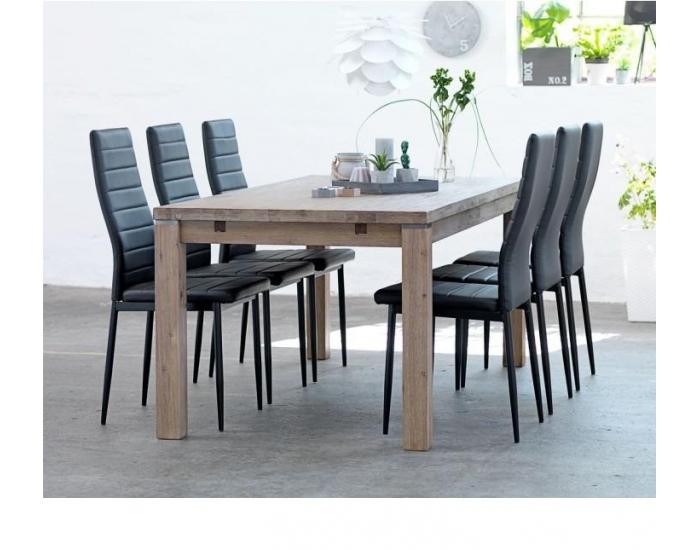 Jedálenská stolička Coleta Nova - karamelová / sivá