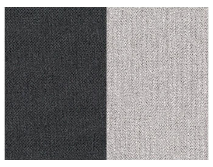 Rozkladacia pohovka Arco P - čierna / svetlosivá