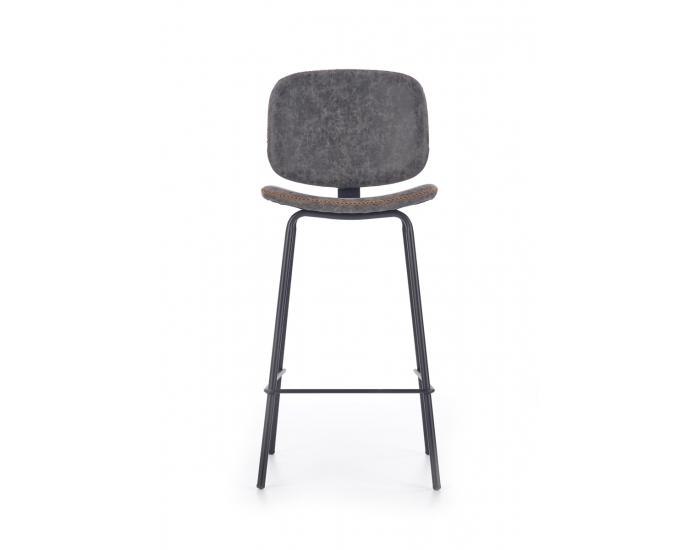Barová stolička H-84 - sivá
