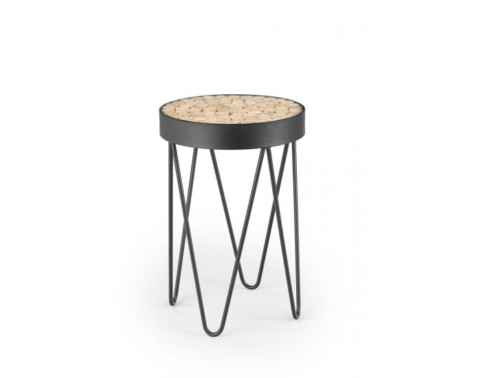 Okrúhly konferenčný stolík Naturo - čierna
