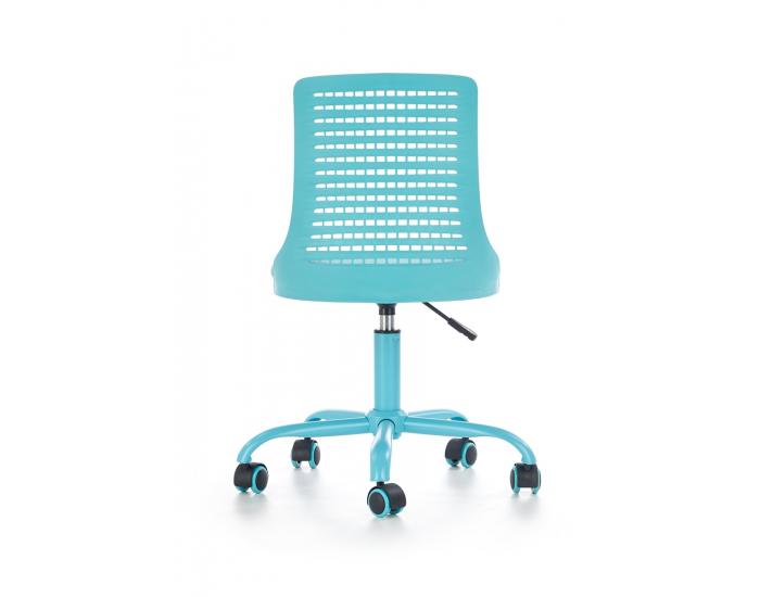 Detská stolička na kolieskach Pure - modrá