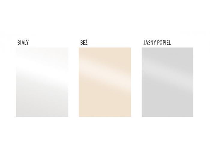 Skrinka na vstavanú rúru Vento DP-60/214 - biela / svetlosivý vysoký lesk