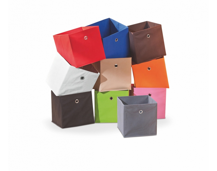Skladací úložný box Winny - hnedá