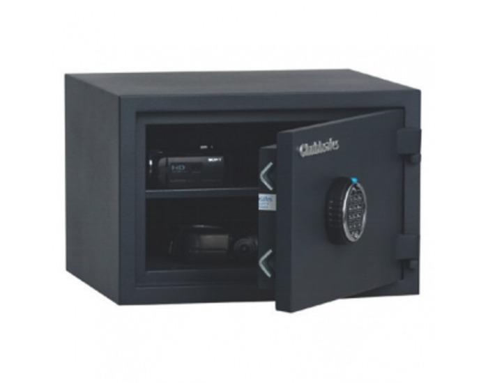 Žiaruvzdorný trezor s elektronickým zámkom Home Safe 20 - čierna