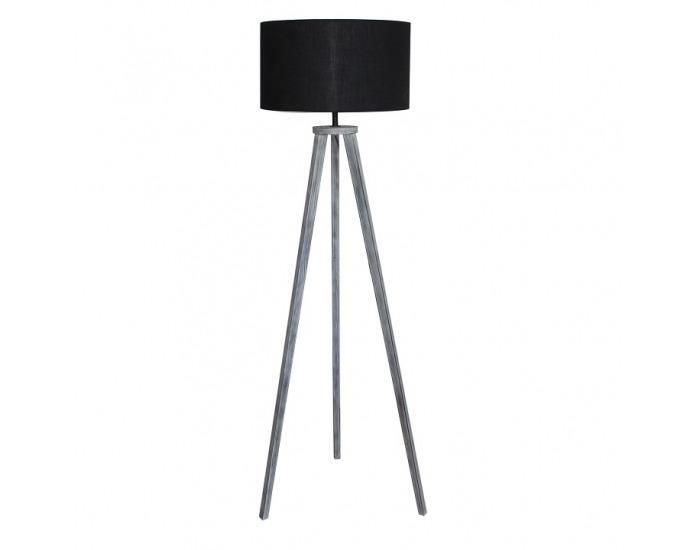Stojacia lampa Jade Typ 10 - tmavosivá / sivá