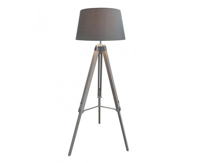 Stojacia lampa Jade Typ 11 - sivá