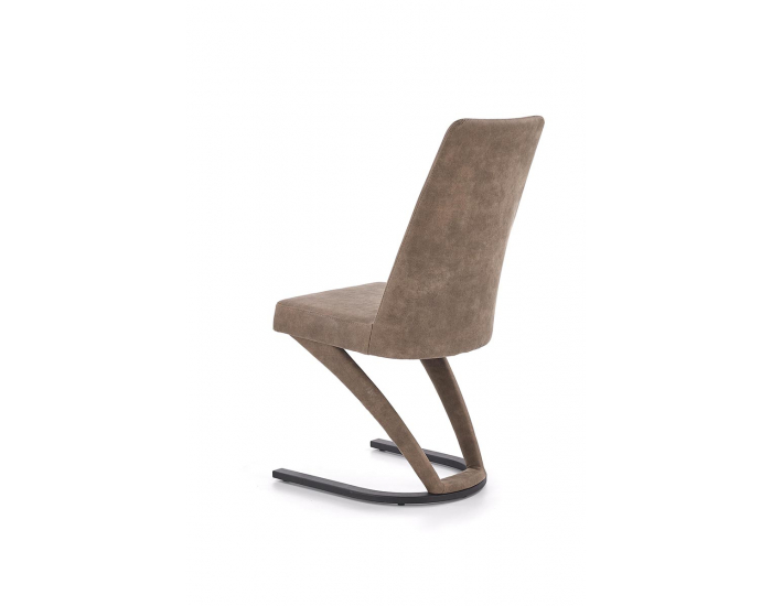 Jedálenská stolička K338 - hnedá / čierna