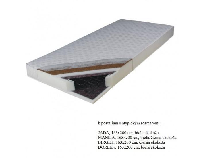 Obojstranný pružinový matrac Kokos Medium 163x200 cm