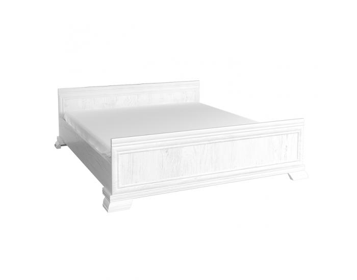 Rustikálna manželská posteľ s roštom Kora KLS2 180 - sosna Andersen