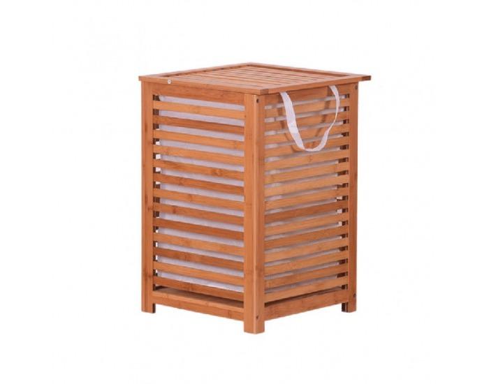 Kôš na prádlo Basket - prírodná / béžová
