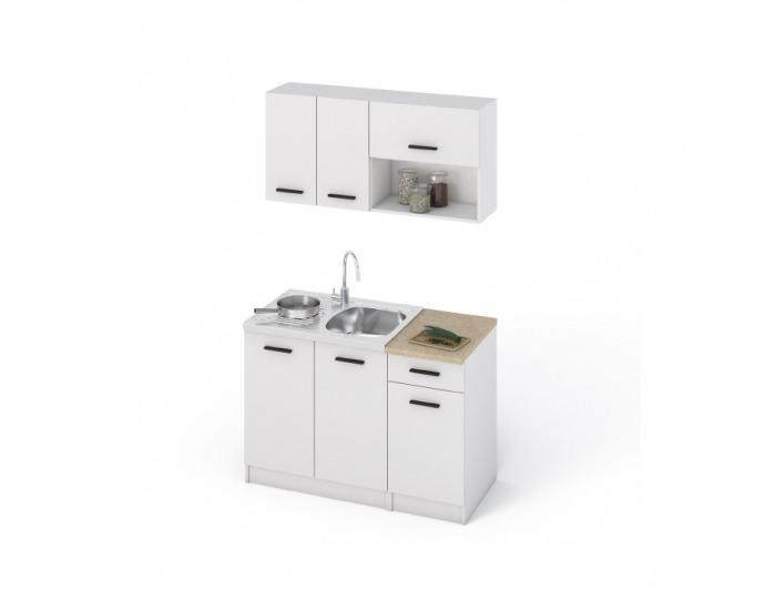 Kuchyňa Libia 120 - biela