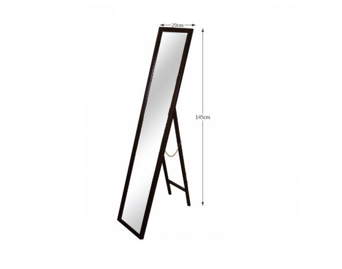 Stojace zrkadlo Malkia Typ 4 - hnedá