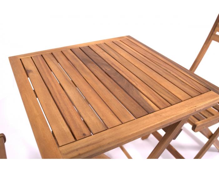 Drevený záhradný set Terasso - agát