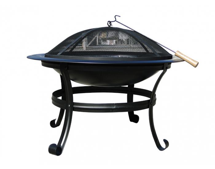 Záhradný gril MIR-082 - čierna