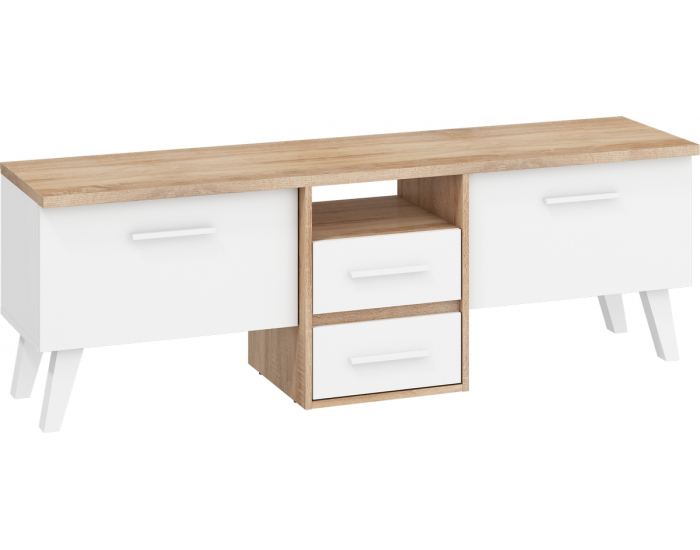 Obývacia izba Nordis - sonoma svetlá / biela